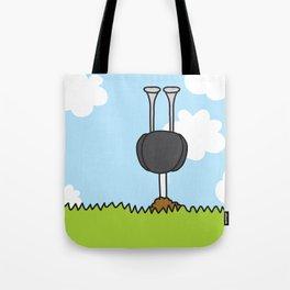 Oz the Ostrich Tote Bag