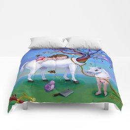 The Unicorn's New Horn Comforters