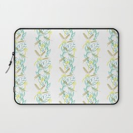 Field column pattern Laptop Sleeve
