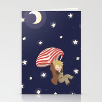 hetalia Stationery Cards featuring Americhute by gohe1090