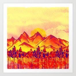 Landscape #05 Art Print
