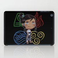 avatar the last airbender iPad Cases featuring Avatar Korra by sambeawesome