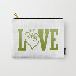 LOVE CYCLING Carry-All Pouch