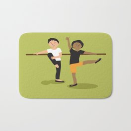 Ballet boys Bath Mat