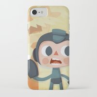 megaman iPhone & iPod Cases featuring Megaman by Peerro