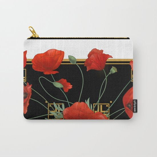 Poppy Stravaganza Carry-All Pouch