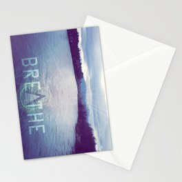Breathe in the Beauty of Nature Stationery Cards