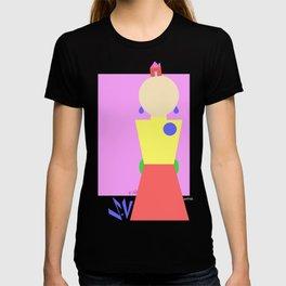 Sasha Velour Geometric T-shirt