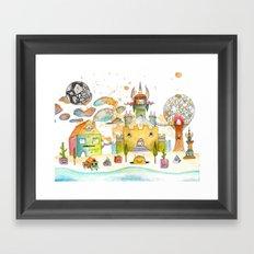Minotaureland 2 Framed Art Print