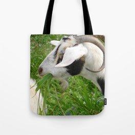 Billy Goat Horns Tote Bag