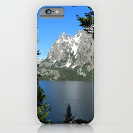 Jenny Lake Serenity iPhone Case
