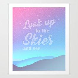 Dream Skies Art Print