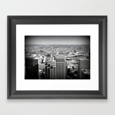 Cincinnati - Downtown #2 Framed Art Print