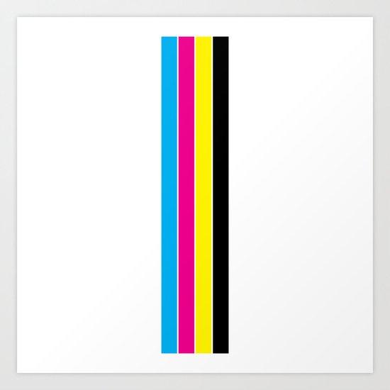 CMYK Stripes by designmindsboutique