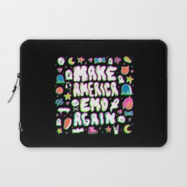 Emo Again Laptop Sleeve