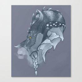 Frost Dragon Canvas Print