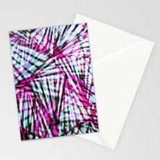 Pink Tiger Stripes Stationery Cards