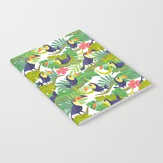 Toucan Paradise Pattern Notebook