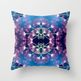 Flower Mandala v.3 Throw Pillow