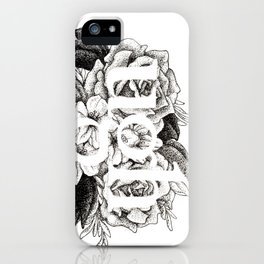 Ugh Floral iPhone Case