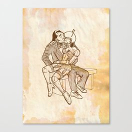 Lazing on a Sunday Afternoon Canvas Print