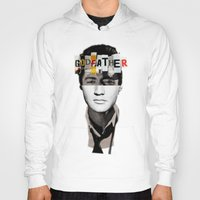 godfather Hoodies featuring Godfather Mix 2 white by Marko Köppe