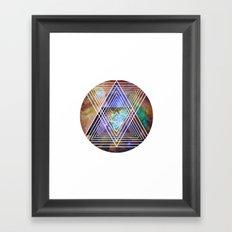 Cosmogeometry Framed Art Print