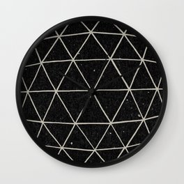 Geodesic Wall Clock