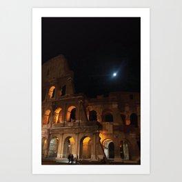 Rome Colosseum Art Print