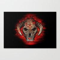diablo Canvas Prints featuring Diablo by Digital Dreams