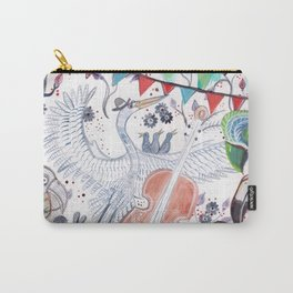 Wild Night at the Ornithology Club Carry-All Pouch