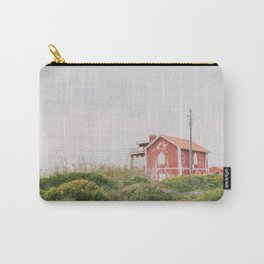 Red house #redhouseprint #reddecor #landscape Carry-All Pouch