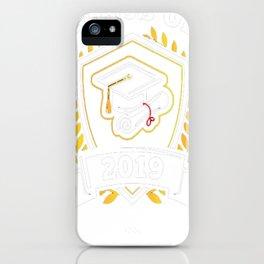 Class-of-2019---Class-of-2019-Graduation-T-Shirt iPhone Case