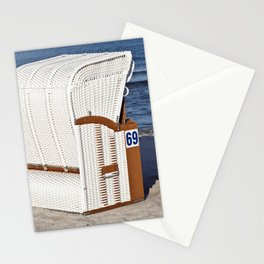 BEACH CHAIR No.69 - Baltic Sea - Isle Ruegen Stationery Cards