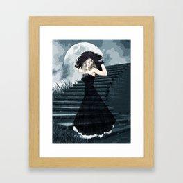 BELLE OF THE FULL MOON BALL Framed Art Print