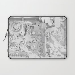 White Gears Laptop Sleeve