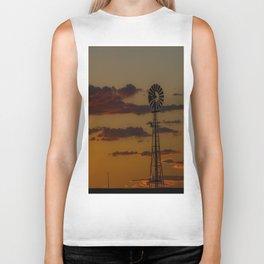 Burns Windmill Biker Tank