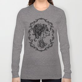 Sugar Skull Girl Cameo Long Sleeve T-shirt