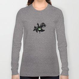 Pennsylvania - State Papercut Print Long Sleeve T-shirt