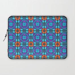 Southwestern Glass Tile Digital Art Laptop Sleeve