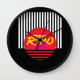 Ritmo | Rhythm of the night Wall Clock