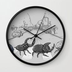 The Beetles Wall Clock