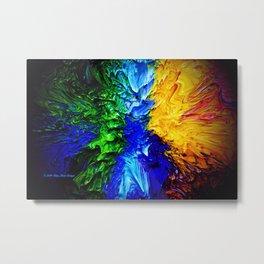 """Gas Flame"" Digital Print Metal Print"
