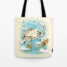 Mr Globetrotter Tote Bag