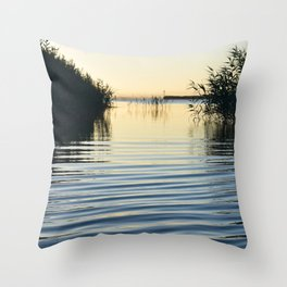 Over the water Throw Pillow