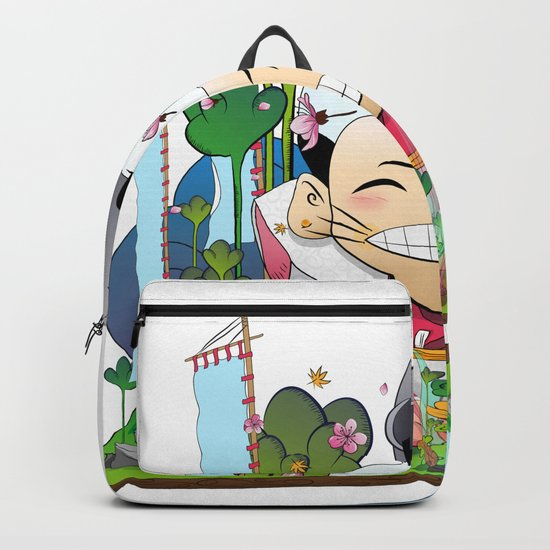 Fukusuke and the magic forest Backpack