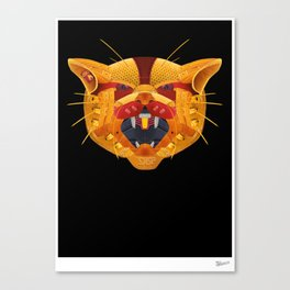 Sneaker Wildcat Canvas Print
