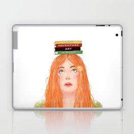 Book girl 02 Laptop & iPad Skin