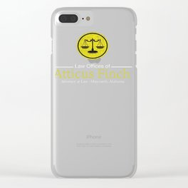 Law Offices of Atticus Finch T-Shirt Clear iPhone Case