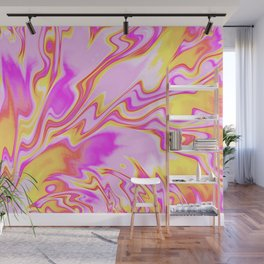 Psychedelic Summer Vibes Wall Mural